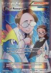 pokemon xy furious fists fossil researcher full art 110 111