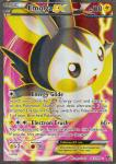pokemon xy base set emolga ex 143 146 full art