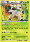 pokemon xy base set chesnaught 14 146