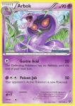 pokemon xy base set arbok 48 146