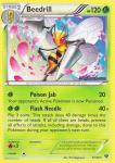 pokemon xy base set beedrill 5 146