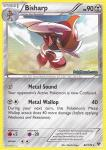 pokemon xy base set bisharp 82 146