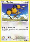 pokemon xy base set doduo 98 146