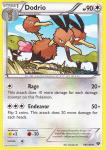 pokemon xy base set dodrio 99 146