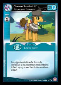 my little pony absolute discord cheese sandwich all around equestria foil
