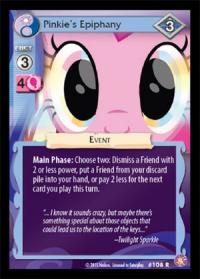 my little pony absolute discord pinkie s epiphany