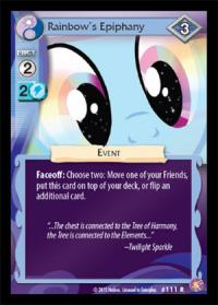 my little pony absolute discord rainbow s epiphany foil