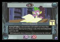 my little pony canterlot nights ancient research
