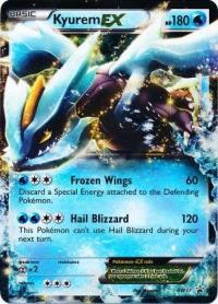 pokemon black white promos kyurem ex bw37