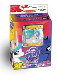 my little pony my little pony sealed product canterlot nights celestia theme deck