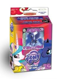 my little pony my little pony sealed product canterlot nights luna theme deck