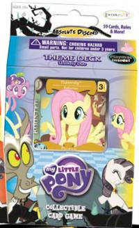 my little pony my little pony sealed product absolute discord unlikely duo theme deck