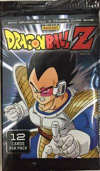 dragonball z dbz sealed product dbz panini base set booster pack