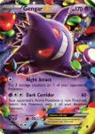 pokemon xy phantom forces gengar ex 34 119