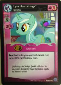 my little pony premiere lyra heartstrings bonafide foil