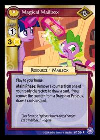 my little pony the crystal games magical mailbox foil