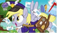 my little pony my little pony sealed product equestrian mailmare playmat