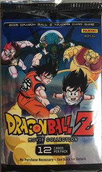 dragonball z dbz sealed product dbz panini movie collection booster pack