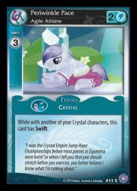 my little pony the crystal games periwinkle pace agile athlete