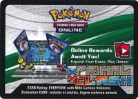 pokemon online tcg codes xy primal clash code card