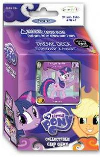 my little pony my little pony sealed product twilight sparke and applejack theme deck