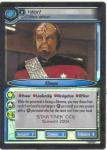 star trek 2e rare promo cards worf first officer 0p24